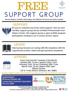 BHA Support Group