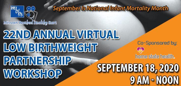 22nd Annual Virtual Low Birthweight Partnership Workshop @ Virtual-Zoom